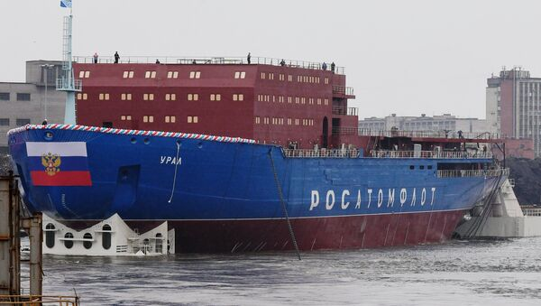 Russia's Ural icebreaker - Sputnik International