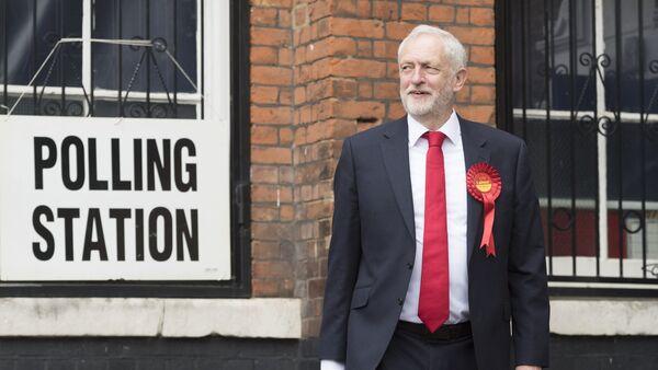 Jeremy Corbyn, the leader of the UK opposition Labour Party - Sputnik International