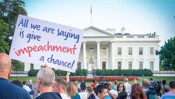 Protest Trans Military Ban, White House, Washington, DC USA - Sputnik International