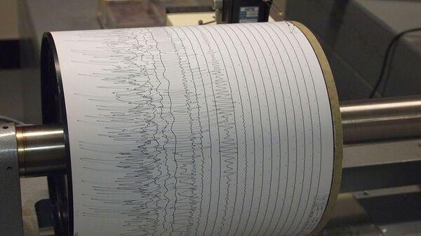 Seismogram at Weston Observatory - Sputnik International