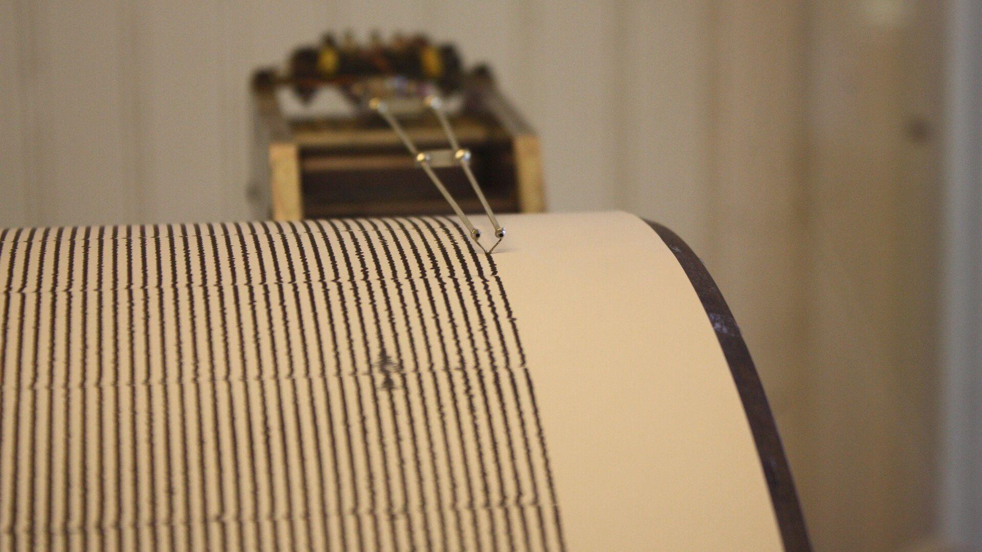 Seismograph, San Juan Bautista Mission - Sputnik International, 1920, 04.03.2021