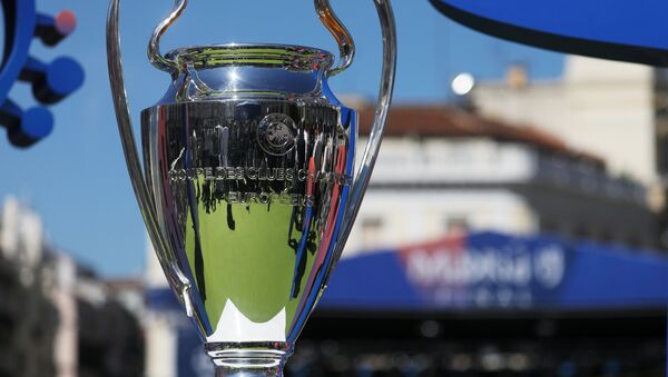 The 2019 trophy arrives in Madrid - Madrid, Spain - May 30, 2019 General view of the trophy - Sputnik International