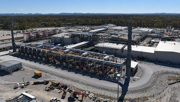 Aerial view of the Blue Grass Chemical Agent-Destruction Pilot Plant - Sputnik International