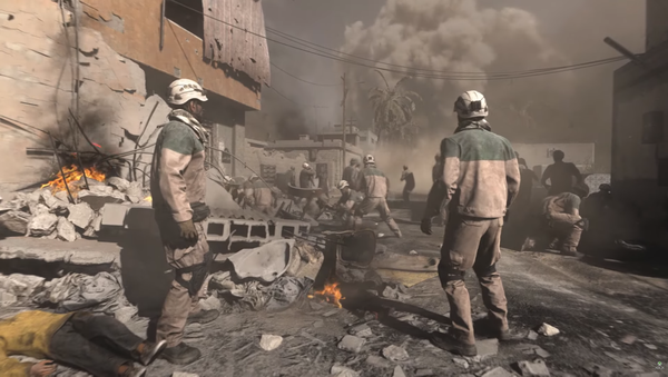 White Helmets appear in the trailer for Call of Duty: Modern Warfare - Sputnik International