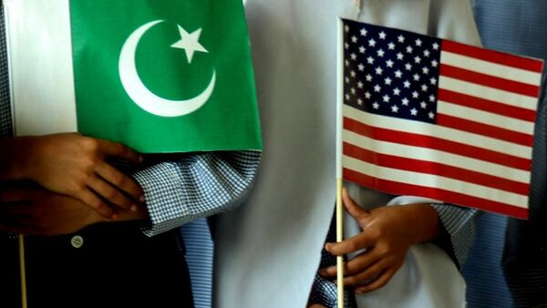 US  Pakistan flags - Sputnik International