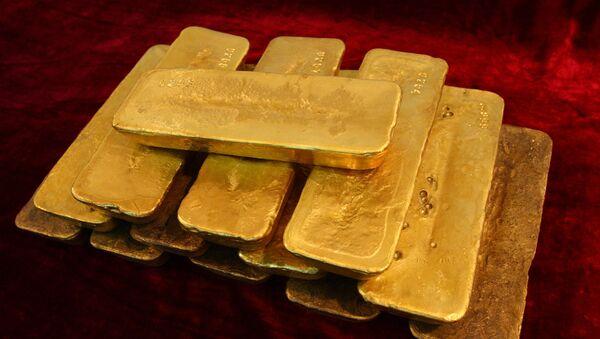 Gold bars - Sputnik International
