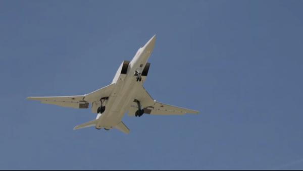 Testing of the Russian Tu-22M3M bomber - Sputnik International