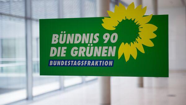 The logo of Germany's Green Party (Die Gruenen) (File) - Sputnik International
