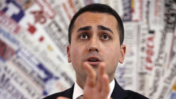 Italy's 5-Star Movement and Italian Low Chamber vice President Luigi Di Maio  - Sputnik International