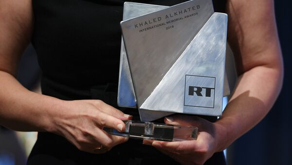 Khaled Alkhateb Memorial Awards - Sputnik International