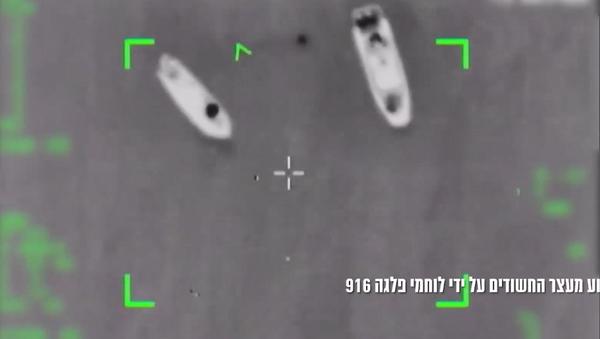 IDF boats intercept two boats near Gaza assumed to be smuggling rocket-building materials - Sputnik International