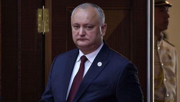 Igor Dodon - Sputnik International