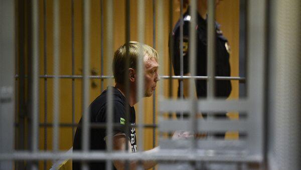 Ivan Golunov, a journalist who worked for the independent website Meduza - Sputnik International