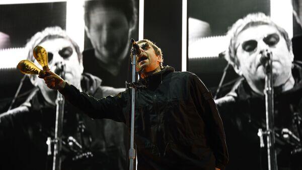 British singer Liam Gallagher performs on stage during the 30th Eurockeennes rock music festival on July 8, 2018 in Belfort, eastern France.  - Sputnik International