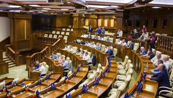 Moldovan Parliament Session - Sputnik International