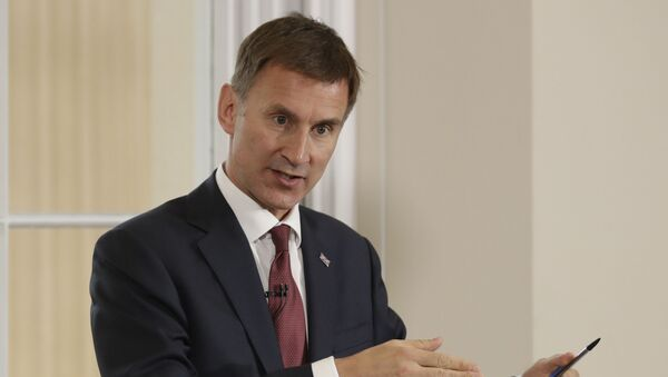 Britain's Foreign Secretary Jeremy Hunt launches his leadership campaign for the Conservative Party in London, Monday June 10, 2019 - Sputnik International