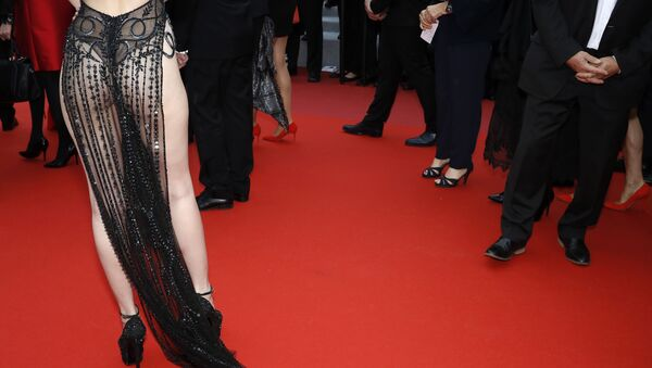 72nd Cannes Film Festival - Screening of the film A Hidden Life in competition - Red Carpet Arrivals - Cannes, France, May 19, 2019 - Sputnik International