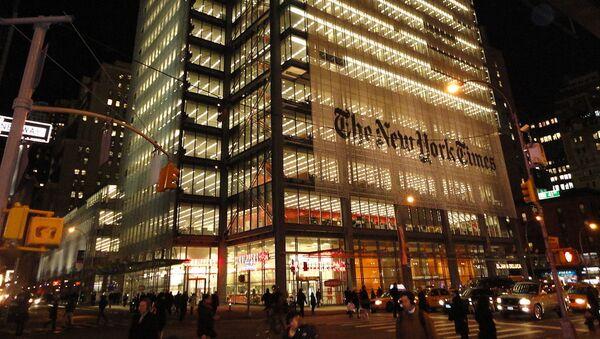 New York Times Building  - Sputnik International