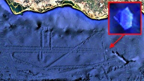 Alien Base With Crystal UFO or USO Under Ocean Off Mexico Coast, UFO Sighting News - Sputnik International