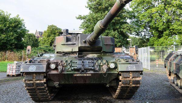 Leopard 2A4 - Sputnik International