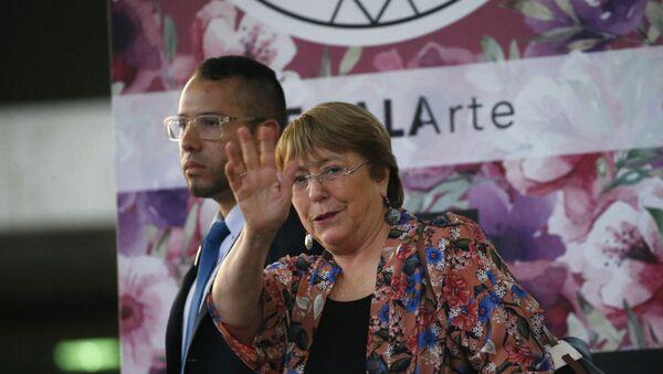 U.N. High Commissioner for Human Rights Michelle Bachelet - Sputnik International