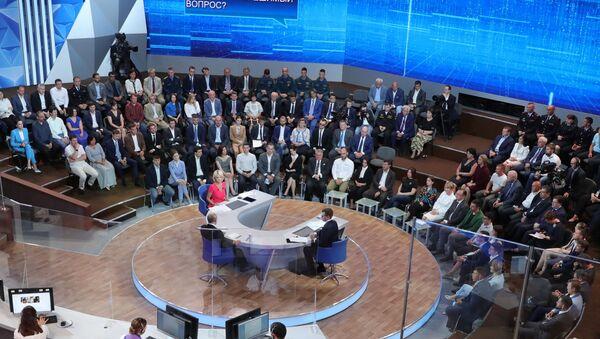 Direct Line with Vladimir Putin 2019  - Sputnik International