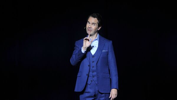 Jimmy Carr attends the 12th annual Stand Up For Heroes benefit concert at the Hulu Theater at Madison Square Garden on Monday, Nov. 5, 2018, in New York - Sputnik International