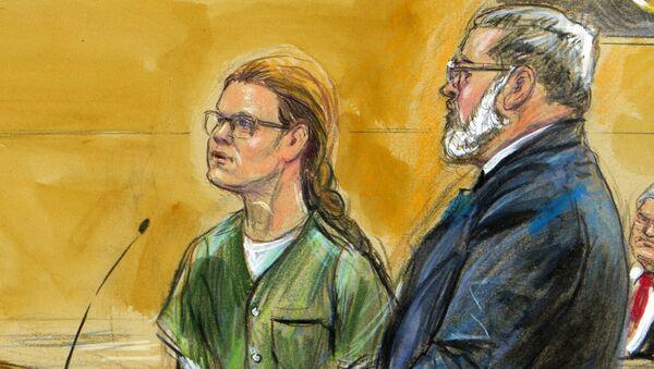 Maria Butina, left, is shown next to her attorney Robert Driscoll, before U.S. District Judge Tanya Chutkan - Sputnik International