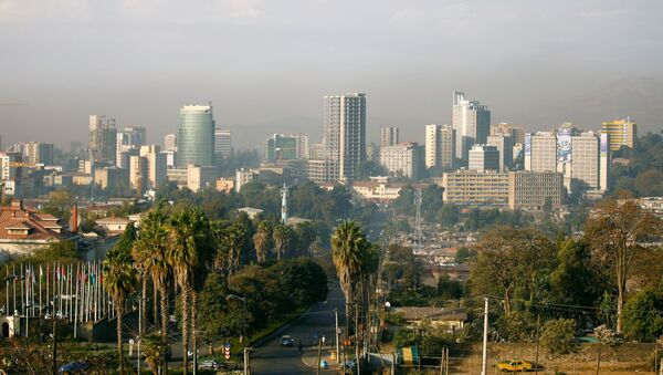 FILE PHOTO: A general view shows the cityscape of Ethiopia's capital Addis Ababa, January 29, 2017. - Sputnik International