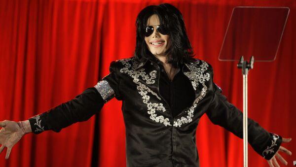 Американский певец Майкл Джексон, 2009 год - Sputnik International