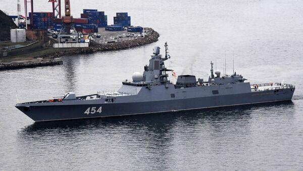 Russian frigate Admiral Gorshkov - Sputnik International