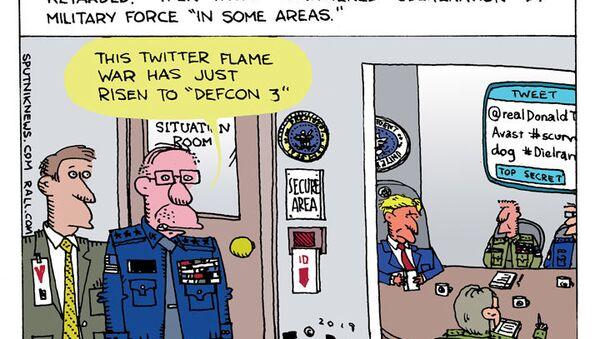 Twitter Fire - Sputnik International