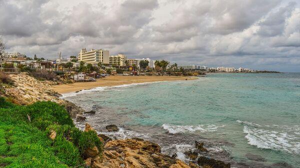 Beach, coast of Protaras, Cyprus  - Sputnik International