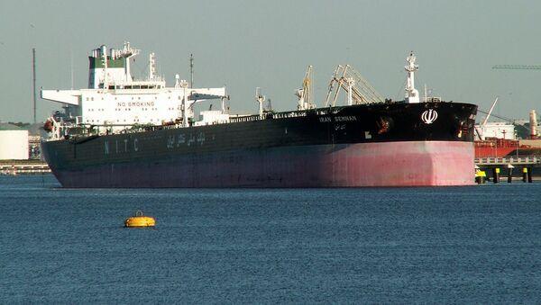 Iran Semnan oil tanker - Sputnik International