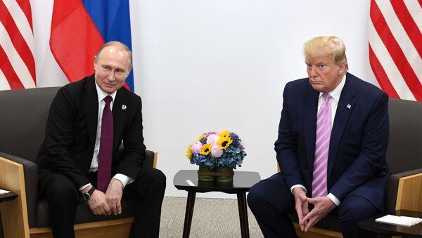 Trump-Putin Talks in Japan - Sputnik International