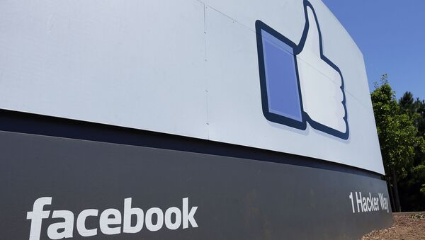 Facebook headquarters in Menlo Park, Calif - Sputnik International