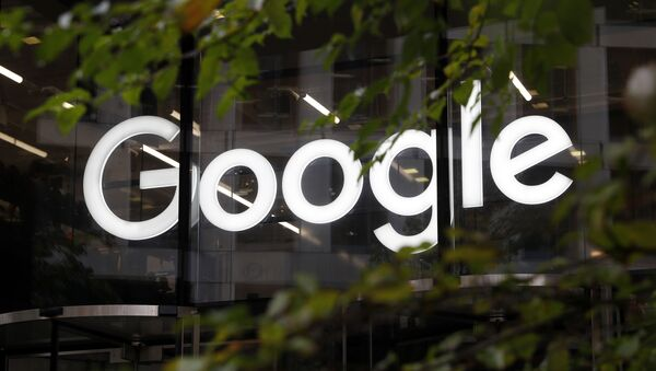 This Nov. 1, 2018, file photo shows a photo of the Google logo at their offices in Granary Sqaure, London - Sputnik International