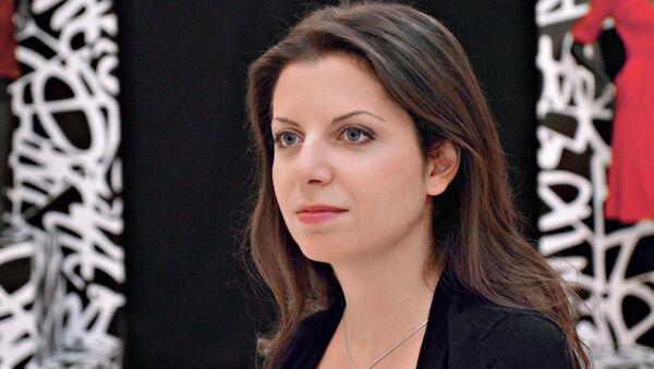 Editor-in-Chief Margarita Simonyan  - Sputnik International