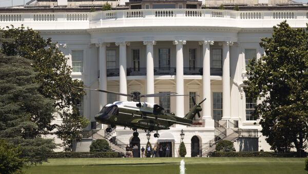 The new Presidential VH-92 helicopter takes off from the South Lawn of the White House in Washington, Friday, June 14, 2019 - Sputnik International