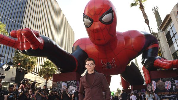 Tom Holland arrives at the world premiere of Spider-Man: Far From Home on Wednesday, June 26, 2019, at the TCL Chinese Theatre in Los Angeles - Sputnik International