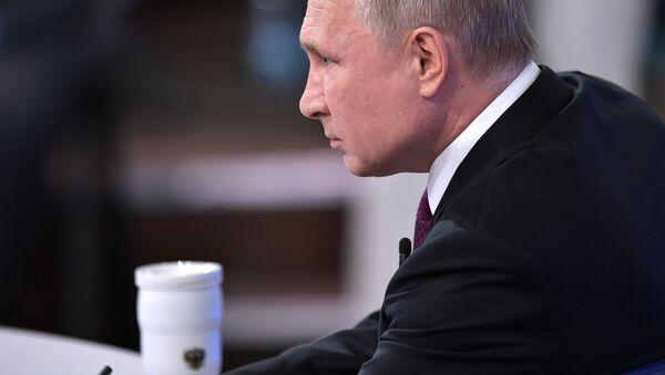 Russian President Vladimir Putin's Direct Line Q&A session - Sputnik International