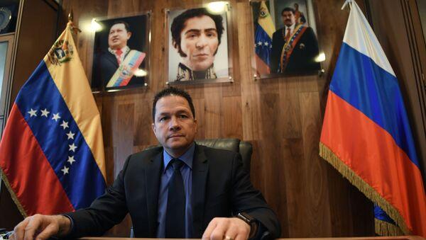 Venezuelan Ambassador to Russia Carlos Rafael Faria Tortosa - Sputnik International