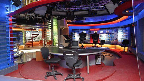 Georgia's Rustavi 2 television station in Tbilisi - Sputnik International