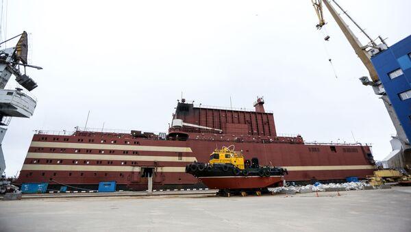 World's first floating nuclear power plant (NPP) Akademik Lomonosov - Sputnik International