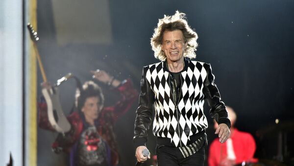 Ron Wood, left, and Mick Jagger, of the Rolling Stones perform during the No Filter tour at Soldier Field on Friday, June 21, 2019, in Chicago - Sputnik International