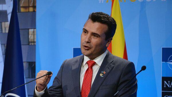 North Macedonian Prime Minister Zoran Zaev - Sputnik International
