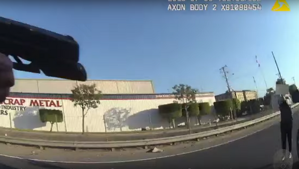 California's Fullerton Police Department releases body camera footage documenting teenager's shooting death by officer - Sputnik International