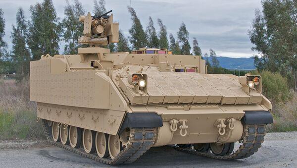 The Armored Multi-Purpose Vehicle (AMPV) is the U.S. Army's program to replace the Vietnam-era M113 Family of Vehicles. - Sputnik International