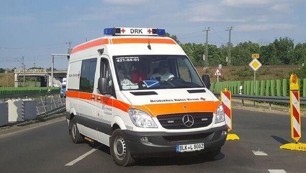 German  ambulance - Sputnik International