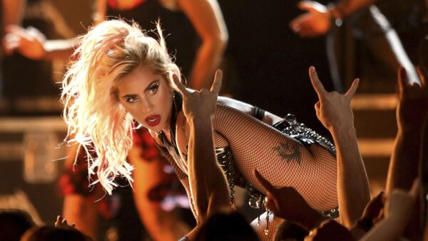 In this Feb. 12, 2017 file photo, Lady Gaga performs Moth Into Flame at the 59th annual Grammy Awards in Los Angeles.  - Sputnik International